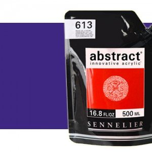Totenart. Acrilico Sennelier Abstract Púrpura 917, 500 ml.