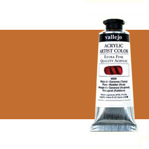 Acrílico Vallejo Artist n. 304 color amarillo de Marte (60 ml)