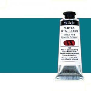 Totenart-Acrílico Vallejo Artist color azul verdoso, (60 ml)