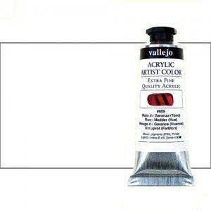 Acrílico Vallejo Artist n. 320 color blanco de zinc (60 ml)