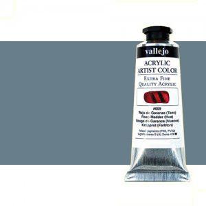 Acrílico Vallejo Artist n. 322 color gris medio (60 ml)