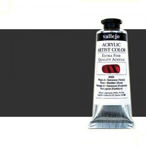 Acrílico Vallejo Artist n. 321 color gris oscuro (60 ml)