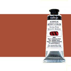 Acrílico Vallejo Artist n. 305 color naranja de Marte (60 ml)