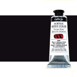 Acrílico Vallejo Artist n. 319 color negro marfíl (60 ml)