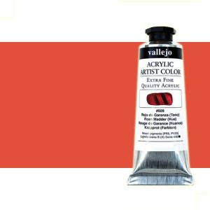 totenart-acrilico-vallejo-artist-rojo-cadmio-claro-58-ml