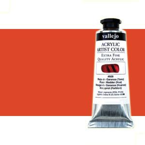 totenart-acrilico-vallejo-artist-rojo-palido-quinacridona-58-ml