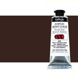 Acrílico Vallejo Artist n. 302 color sombra tostada (60 ml)