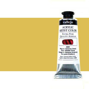 Acrílico Vallejo Artist n. 424 color transóxido amarillo (60 ml)