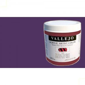 totenat-Acrílico Vallejo Artist color violeta permanente (500 ml)