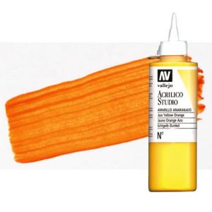 totenart-acrilico-vallejo-studio-15-naranja-cadmio-200-ml