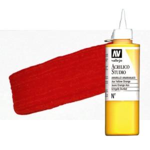 totenart-acrilico-vallejo-studio-2-rojo-cadmio-200-ml