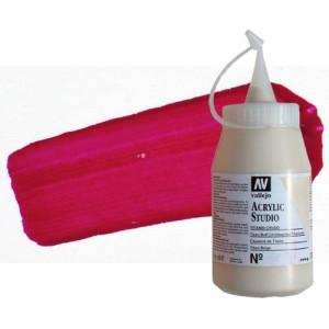 totenart-acrilico-vallejo-studio-3-rojo-carmin-500-ml
