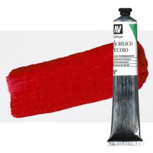 totenart-acrilico-vallejo-studio-45-rojo-cadmio-oscuro-58-ml