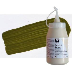 totenart-acrilico-vallejo-studio-48-verde-oliva-500-ml