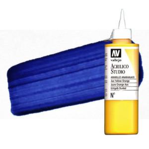 Acrílico Vallejo Studio n. 46 color azul de Prusia ftalocianina (200 ml)