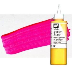 totenart-acrilico-vallejo-studio-934-rojo-rosa-fluorescente-200-ml
