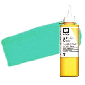 Acrílico Vallejo Studio n. 54 color verde esmeralda ftalocianina (200 ml)
