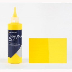 Totenart - Acrílico La Pajarita Amarillo Medio Azo Chroma color (200 ml.)