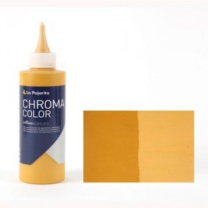 Totenart - Acrílico La Pajarita Amarillo Óxido de Hierro Chroma Color (200 ml.)
