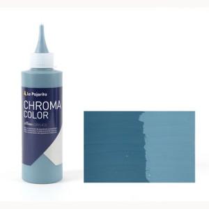 Totenart - Acrílico La Pajarita Azul Grisáceo Chroma Color (200 ml.)