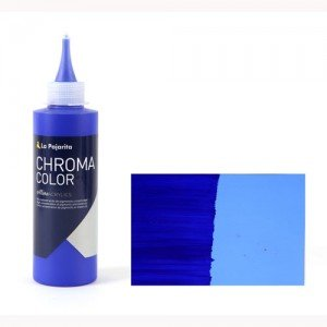 Totenart - Acrílico La Pajarita Azul Ultramar Chroma Color (200 ml.)