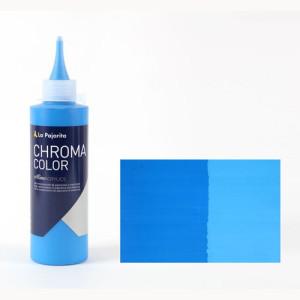 Totenart - Acrílico La Pajarita Cyan Primario Chroma Color (200 ml.)