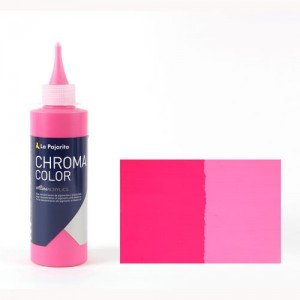 Totenart - Acrílico La Pajarita Magenta Claro Chroma Color (200 ml.)