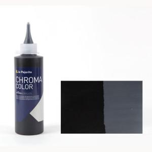 Totenart - Acrílico La Pajarita Negro Humo Chroma Color (200 ml.)