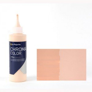 Totenart - Acrílico La Pajarita Rosa Retrato Chroma Color (200 ml.)