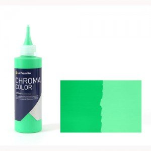 Totenart - Acrílico La Pajarita Verde Medio Chroma Color (200 ml.)