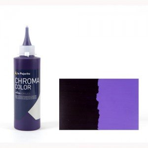 Totenart - Acrílico La Pajarita Violeta de Dioxacina Chroma Color (200 ml.)