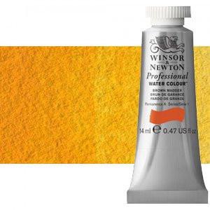 totenart-Acuarela Artist Winsor & Newton color amarillo de cadmio oscuro (14 ml)