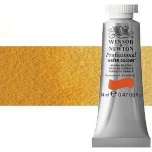 totenart-Acuarela Artist Winsor & Newton color amarillo de Nápoles oscuro (14 ml)