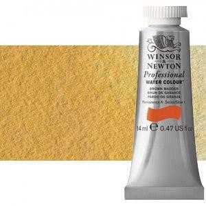 totenart-Acuarela Artist Winsor & Newton color amarillo de Nápoles (14 ml)