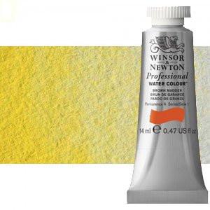 totenart-Acuarela Artist Winsor & Newton color amarillo limón oscuro (14 ml)