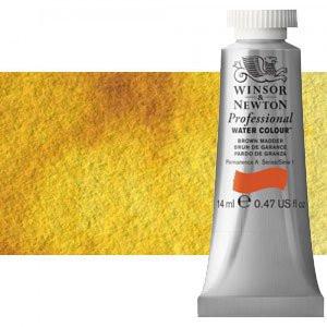 totenart-Acuarela Artist Winsor & Newton color amarillo transparente (14 ml)