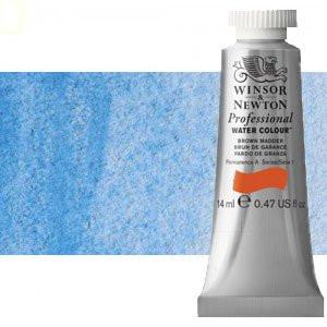 totenart-Acuarela Artist Winsor & Newton color azul cerúleo sombra roja (14 ml)