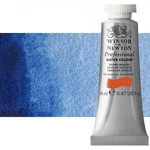 totenart-Acuarela Artist Winsor & Newton color azul de Amberes (14 ml)