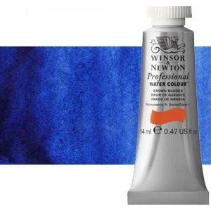 totenart-Acuarela Artist Winsor & Newton color azul Winsor sombra roja (14 ml)