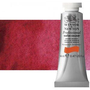 totenart-Acuarela Artist Winsor & Newton color carmesí de alizarina permanente (14 ml)