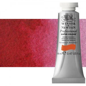 totenart-Acuarela Artist Winsor & Newton color carmín permanente (14 ml)