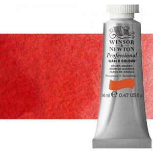 totenart-Acuarela Artist Winsor & Newton color laca escarlata (14 ml)