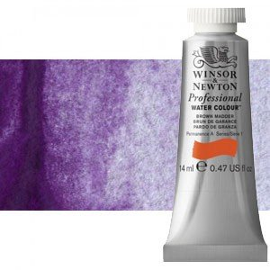 totenart-Acuarela Artist Winsor & Newton color malva permanente (14 ml)