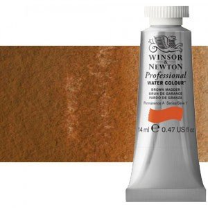 totenart-Acuarela Artist Winsor & Newton color marrón magnesio (14 ml)