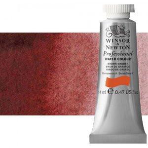 totenart-Acuarela Artist Winsor & Newton color granate de perileno (14 ml)