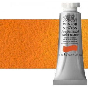 totenart-Acuarela Artist Winsor & Newton color naranja de cadmio (14 ml)