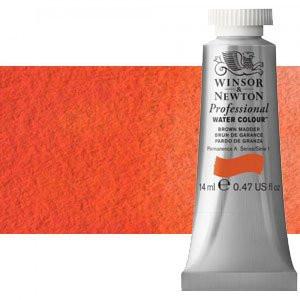 totenart-Acuarela Artist Winsor & Newton color naranja Winsor sombra roja (14 ml)