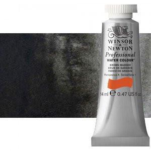 totenart-Acuarela Artist Winsor & Newton color negro de marfil (14 ml)