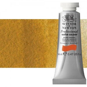 totenart-Acuarela Artist Winsor & Newton color ocre amarillo (14 ml)