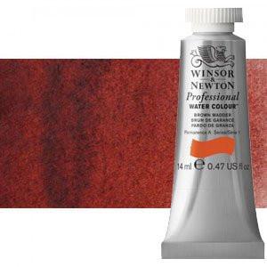 totenart-Acuarela Artist Winsor & Newton color granza pardo (14 ml)